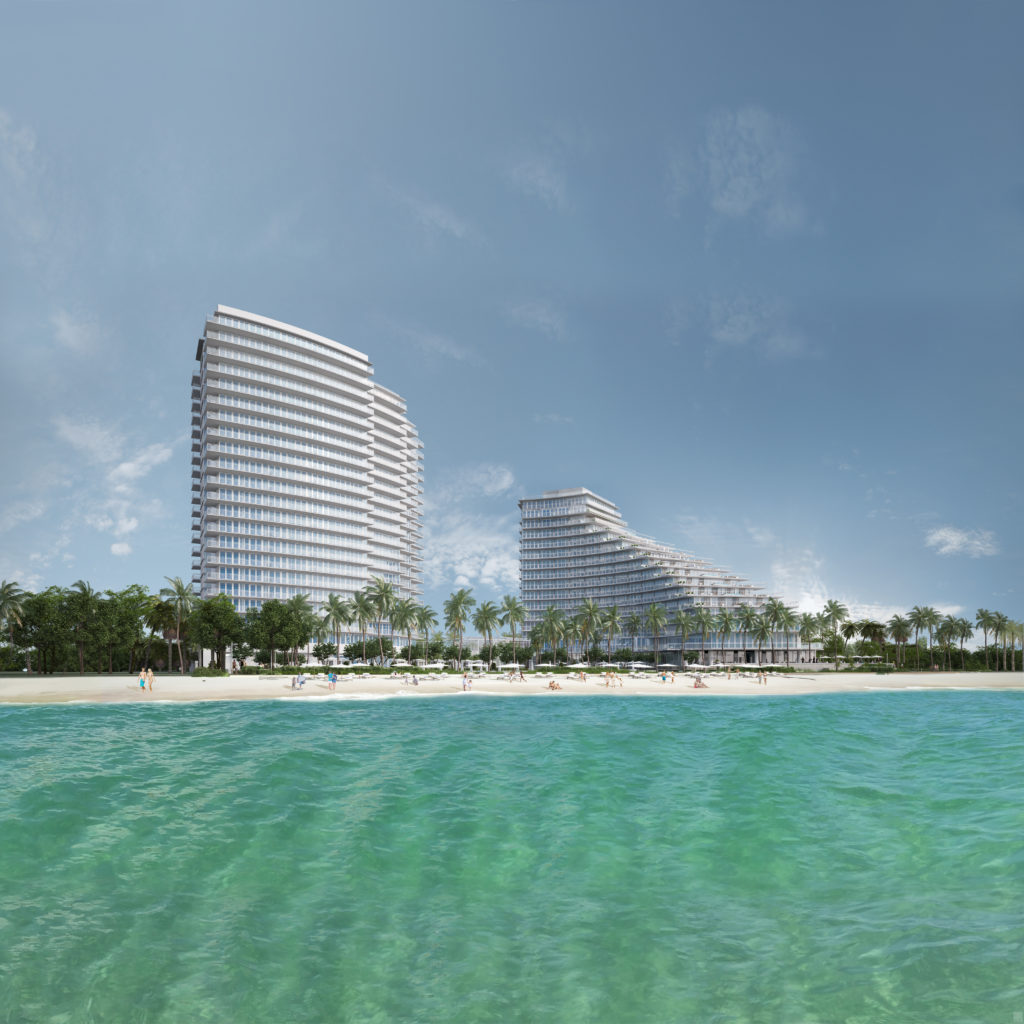 Auberge Beach Building View