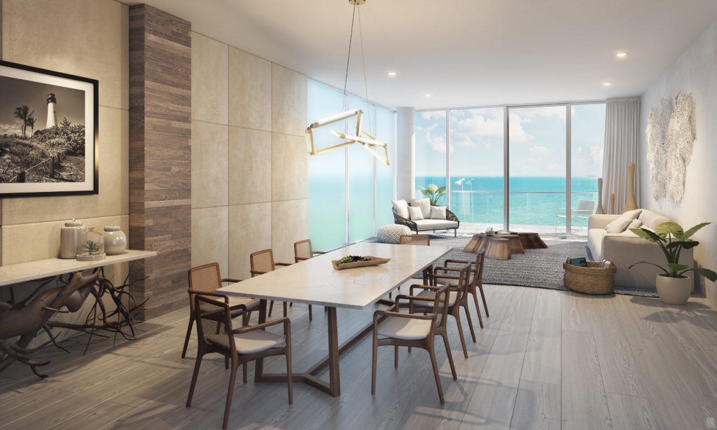 Auberge Beach CS Living Dining Room