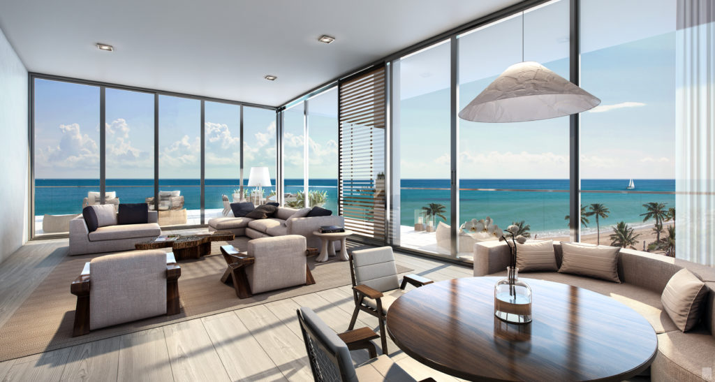 Auberge Beach Living Room
