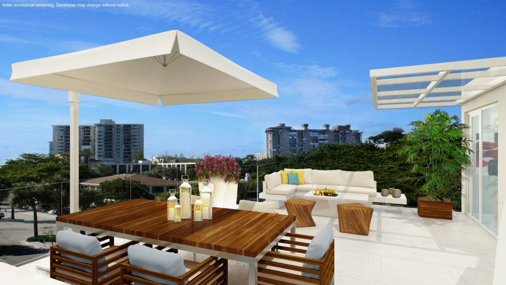 Paramount Townhouse Rooftop Terrace