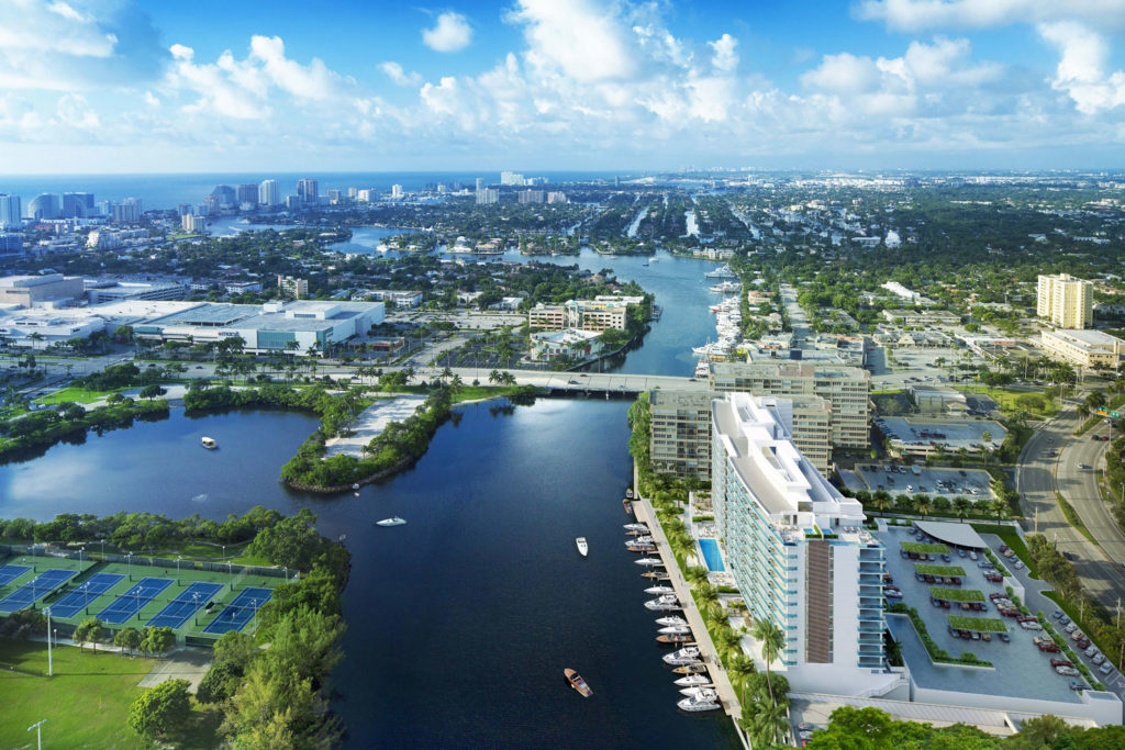 Riva Fort Lauderdale Aerial View