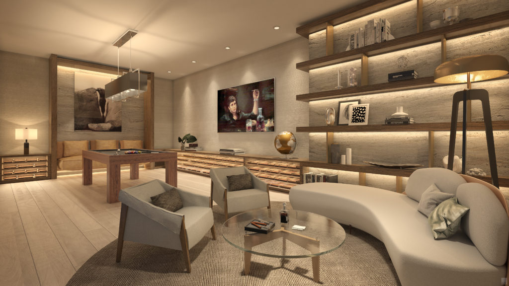Auberge Beach Residences Fort Lauderdale Cigar Room