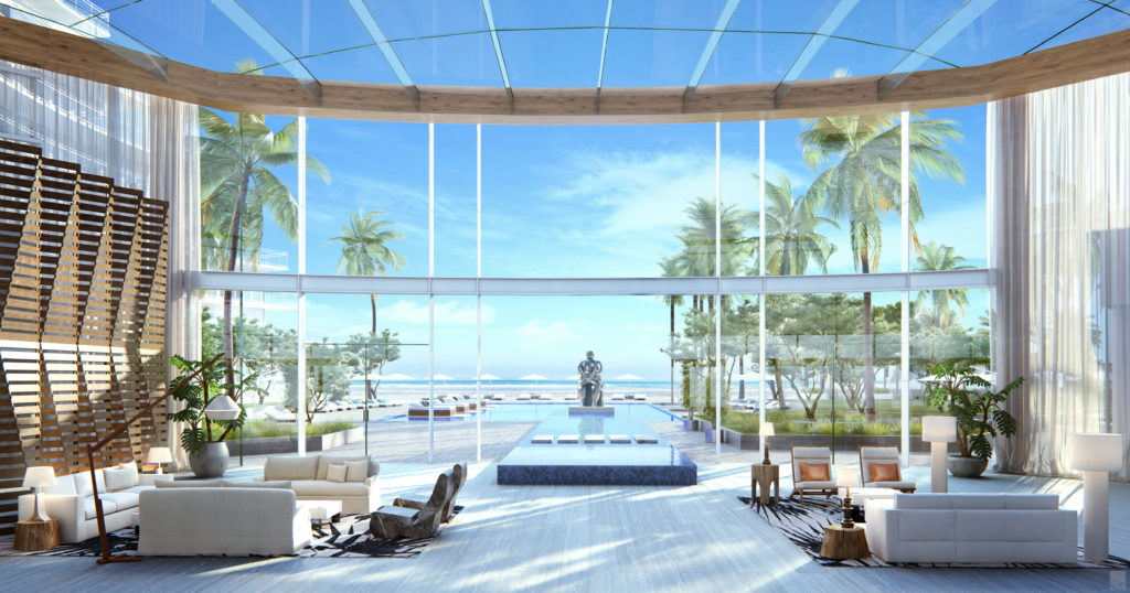 Auberge Beach Residences Fort Lauderdale Lobby View 3