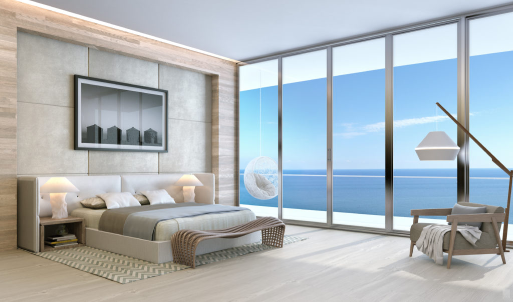 Auberge Beach Residences Fort Lauderdale North Penthouse Bedroom