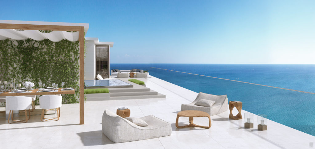 Auberge Beach Residences Fort Lauderdale North Penthouse Terraza