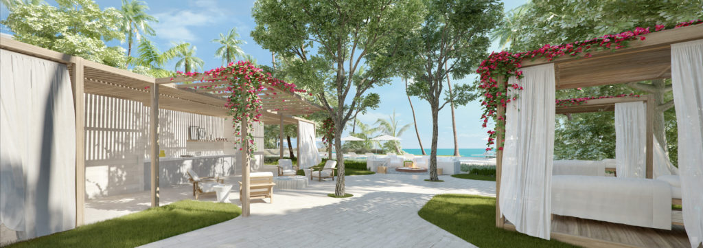 Auberge Beach Residences Fort Lauderdale Outdoor Cabanas
