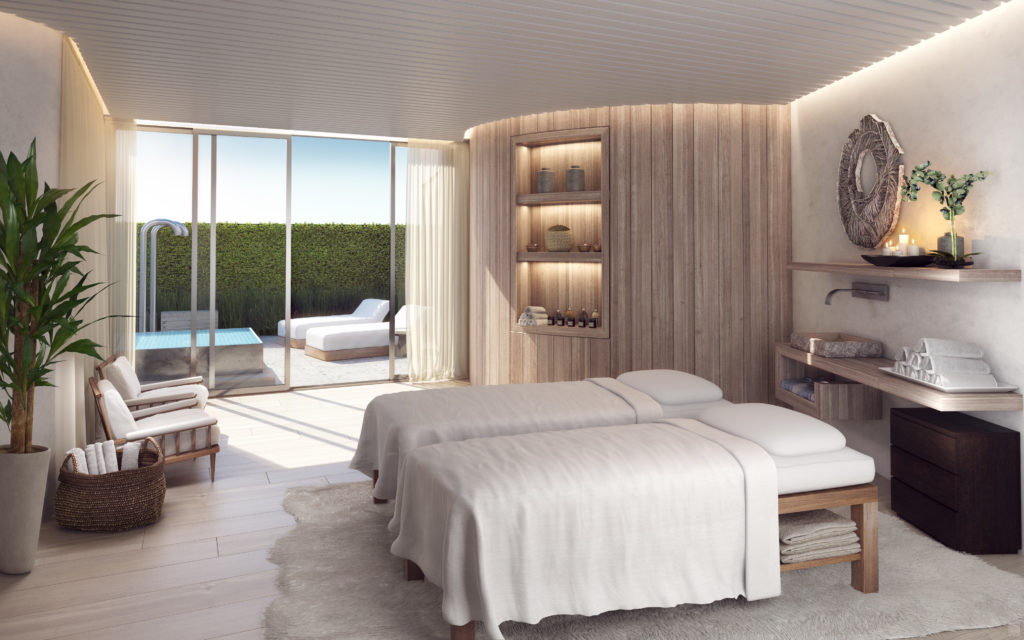 Auberge Beach Residences Fort Lauderdale Spa Treatment Room