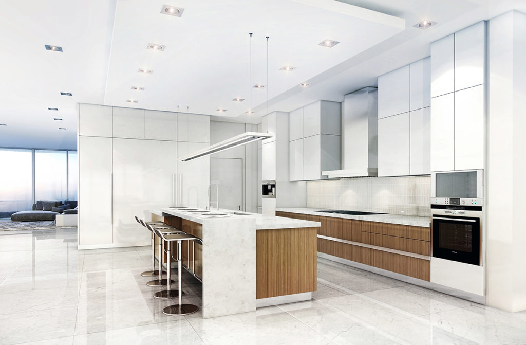 321 at Water's Edge Fort Lauderdale Kitchen