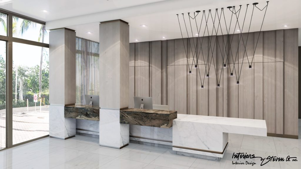321 at Water's Edge Fort Lauderdale Lobby