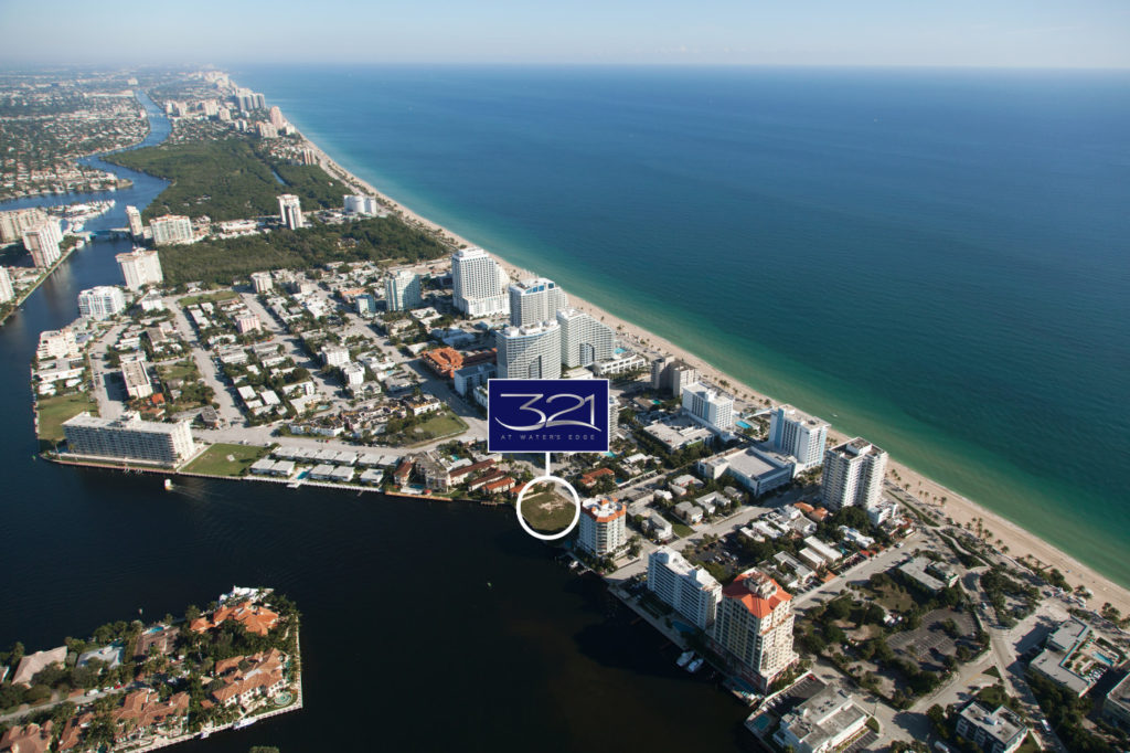 321 at Water's Edge Fort Lauderdale North Aerial View
