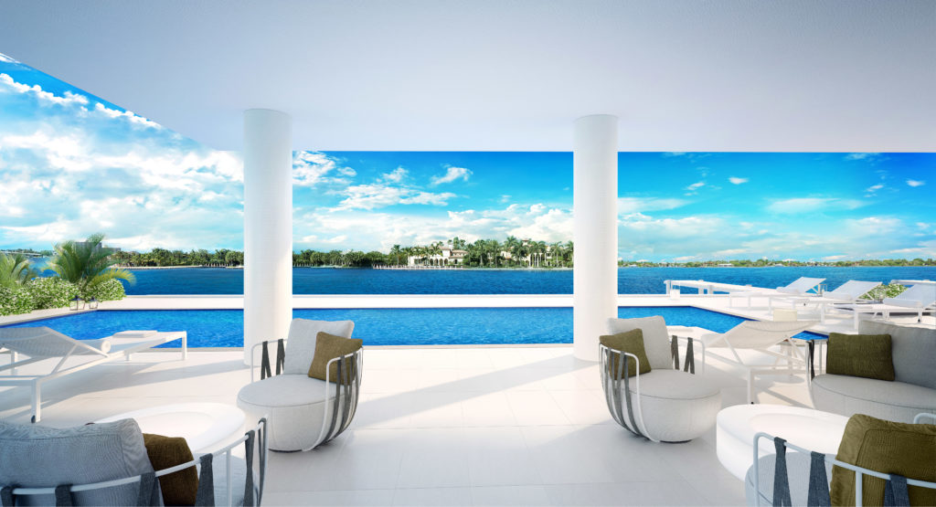 321 at Water's Edge Fort Lauderdale Pool View