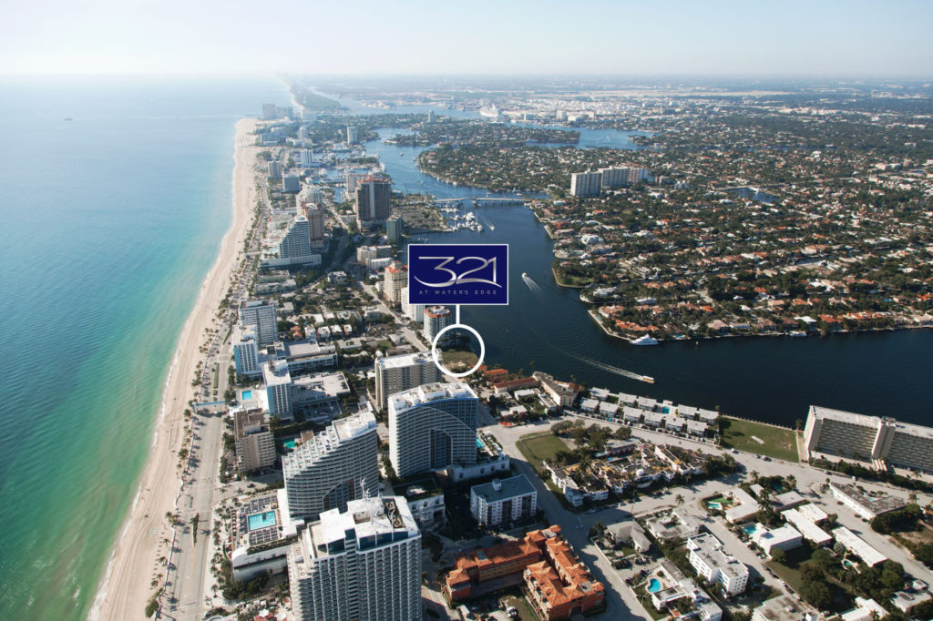 321 at Water's Edge Fort Lauderdale South Aerial View