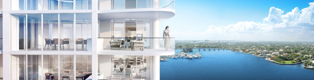 321 at Water's Edge Fort Lauderdale Terrace View