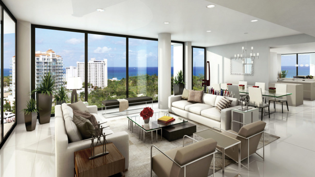 AquaBlu Fort Lauderdale Residence Living Room 2 Part 87