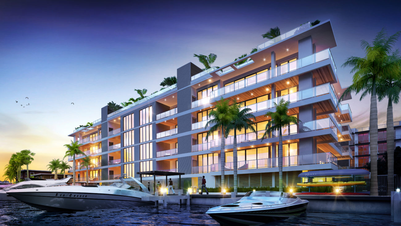 AquaLuna Fort Lauderdale Water View