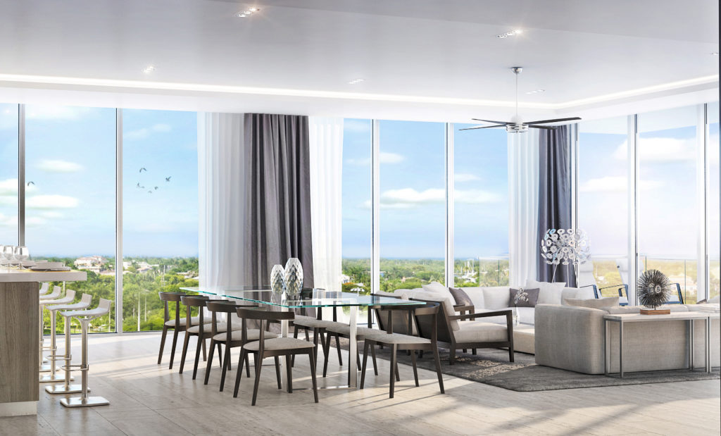 AquaMar Fort Lauderdale Living Area 2