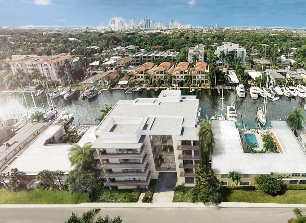 AquaVue Fort Lauderdale Aerial View