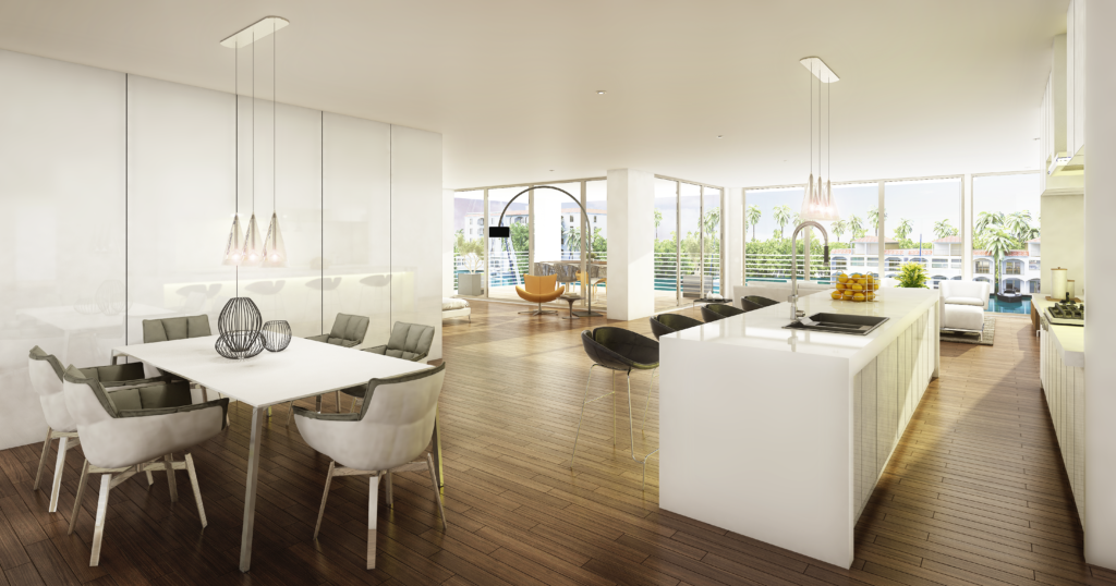 AquaVue Fort Lauderdale Residence Interior