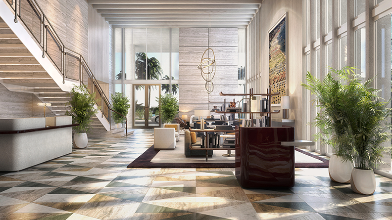Four Seasons Fort Lauderdale Lobby