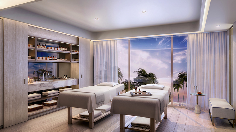 Four Seasons Fort Lauderdale Massage Space
