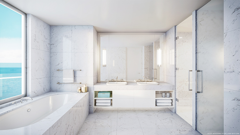 Four Seasons Fort Lauderdale Master Bathroom