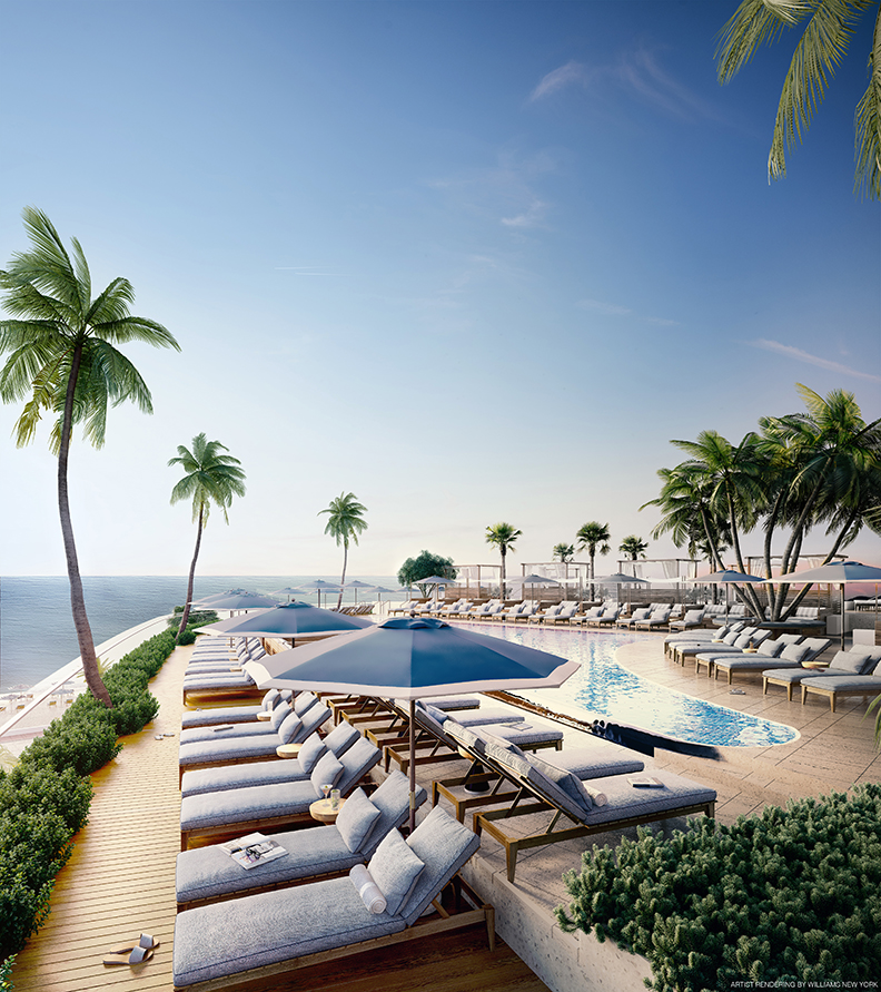 Four Seasons Fort Lauderdale Pool Deck