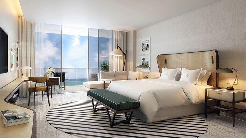 Four Seasons Fort Lauderdale Riva Bedroom
